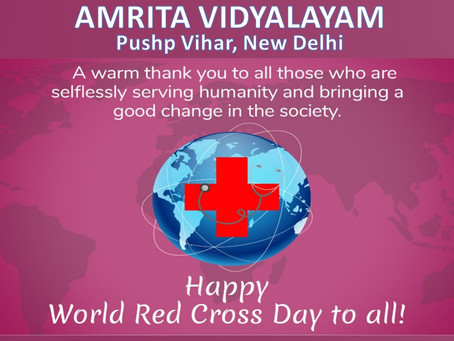 #AMRITA_VIDYALAYAM #HAPPY_WORLD_RED_CROSS_DAY