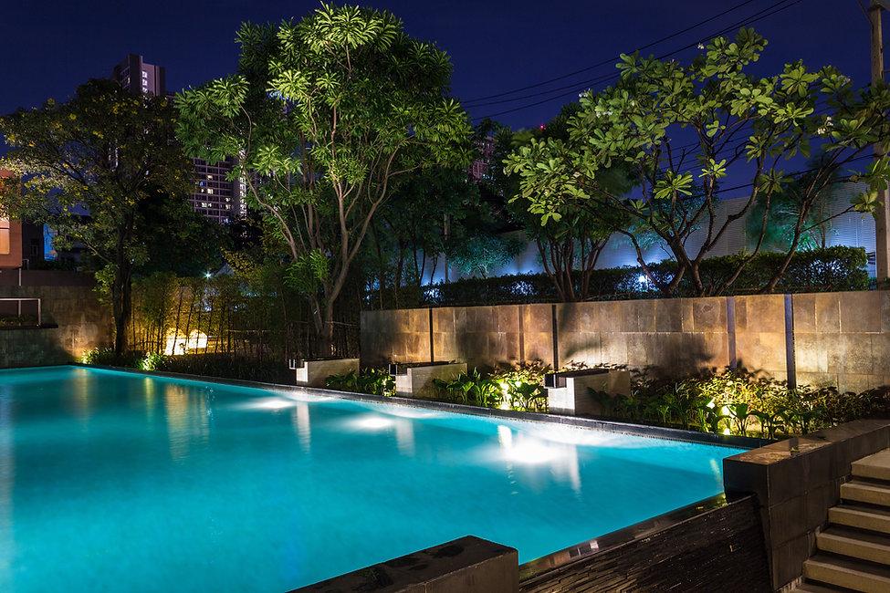 Pool Cage Lighting