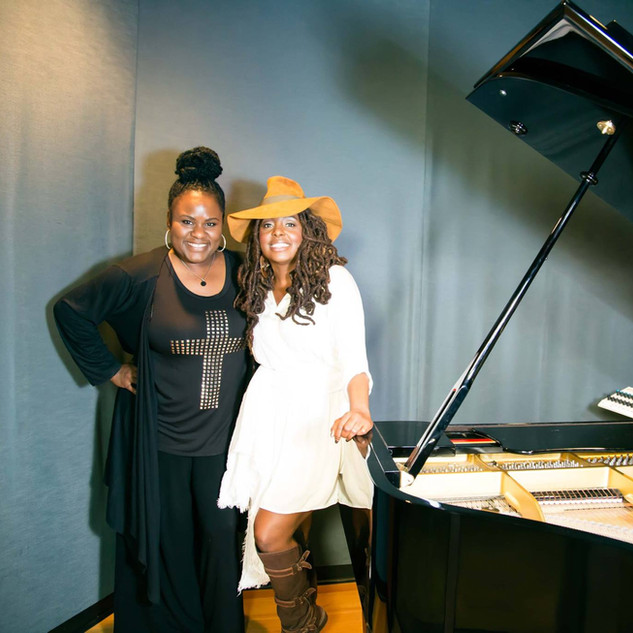 Assisting Ledisi on The Intimate Truth