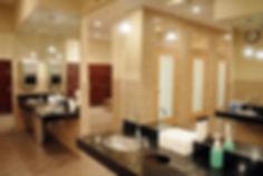 Locker Rooms at SkyClub Fitness and Spa, Clean Locker Rooms