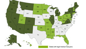 CAN I USE MY MEDICAL MARIJUANA IN STATES WHERE IT'S NOT LEGAL?