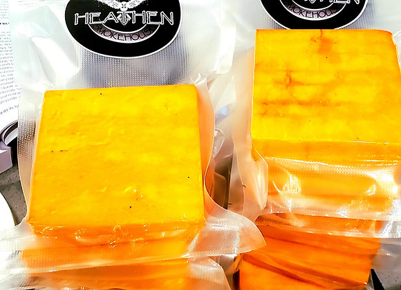 Hickory Smoked Extra Old Yellow Cheddar