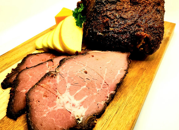 Beer and Applewood Smoked Sirloin