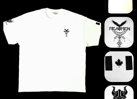 Men's White Heathen Smokehouse T-Shirt