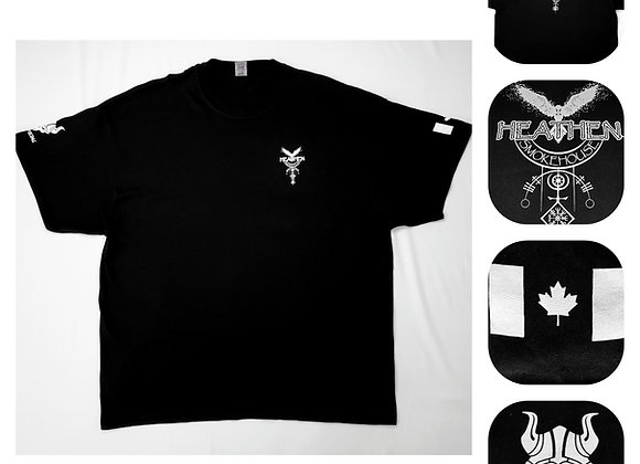 Men's Black Heathen Smokehouse T-shirt