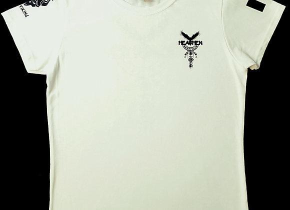Women's White Heathen Smokehouse T-Shirts