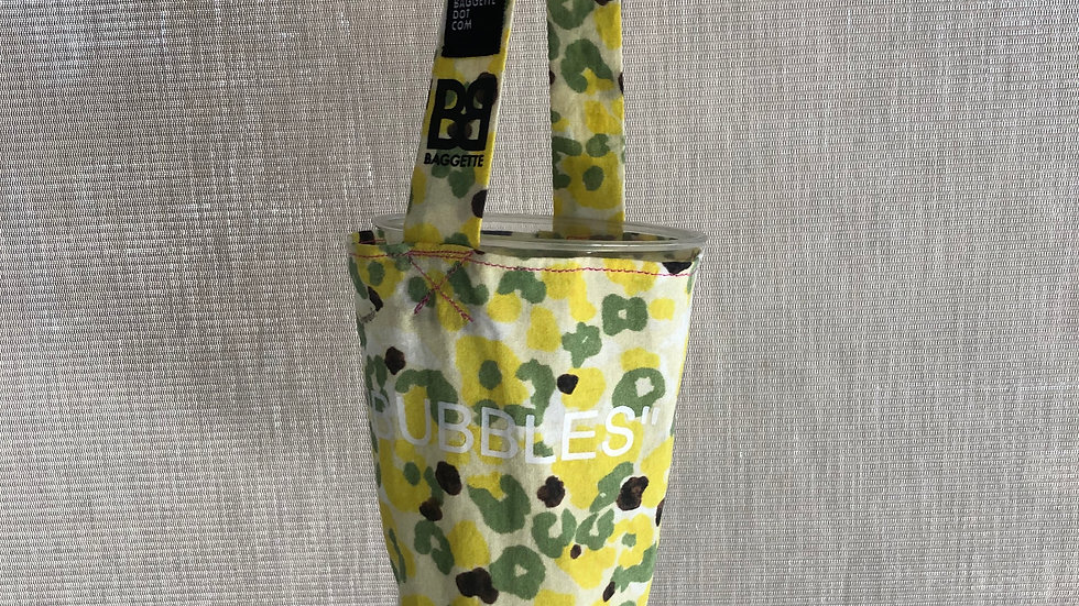 Bubble Tea Tote Bag Prototype | Flower Camo