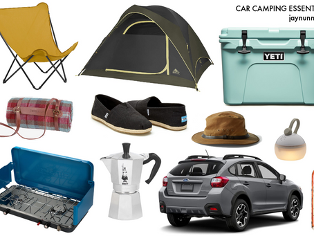 one guy's opinion on car camping essentials