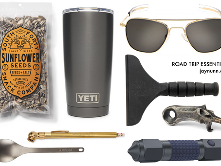one guy's opinion on road trip essentials