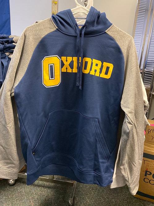 Oxford Navy/Gray Hoodie