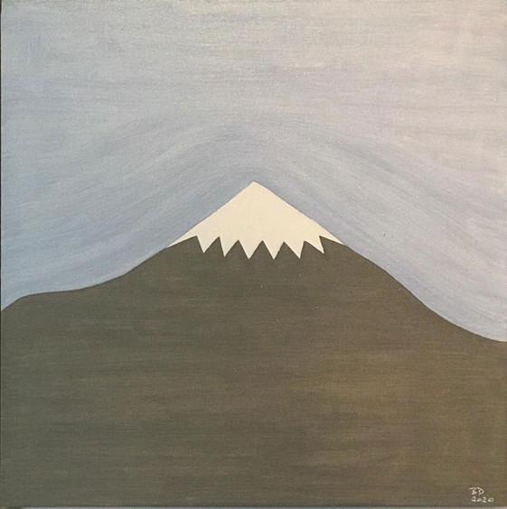 Damavand M&NT 2020  oil on canvas board  30 x 30 cm
