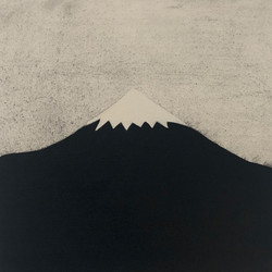 Damavand untitled 2020 charcoal and oil on canvas board 30 x 30 cm