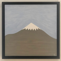 Damavand untitled 2020  oil on canvas board  30 x 30 cm