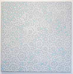 Bassett 2017  oil on canvas  122 x 122 cm