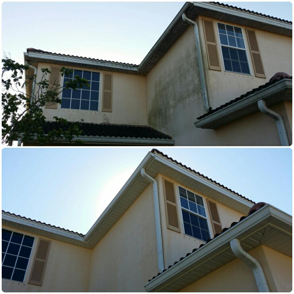 Even the dirtiest of soffits!