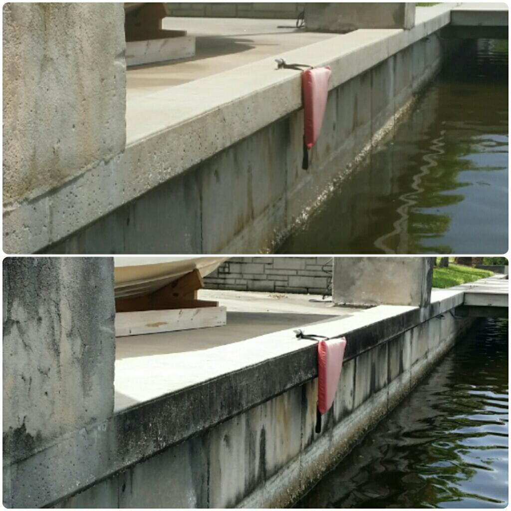 Sea wall Cleaning