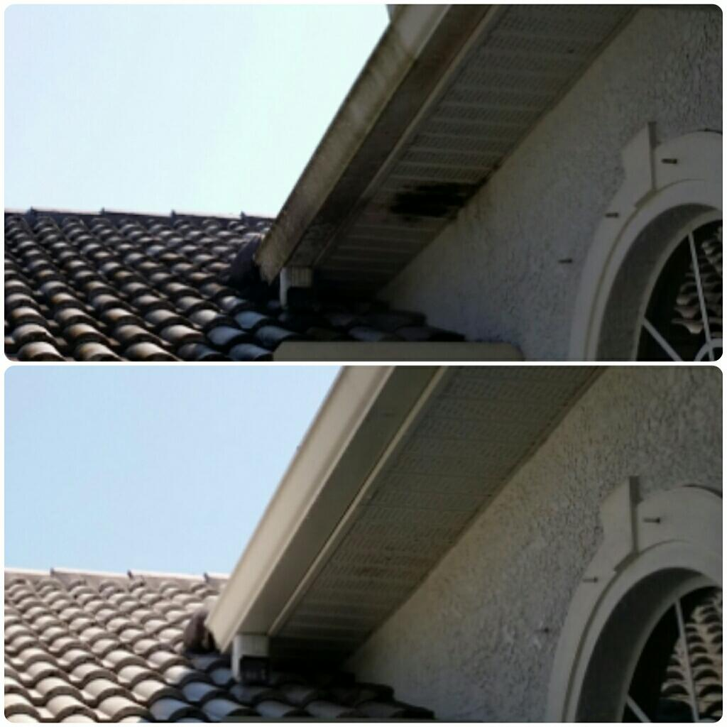 Soffit Cleaning