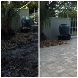 We clean the dirtiest of pavers.