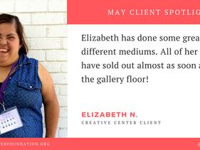 May Client Spotlight - Elizabeth N.