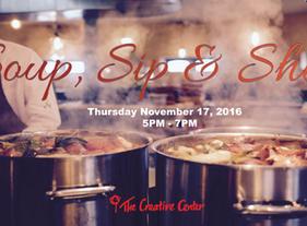 Soup, Sip & Shop 2016