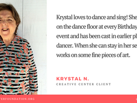 July Client Spotlight - Krystal N.