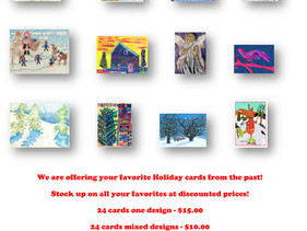 Creative Center Christmas Cards Now on Sale!