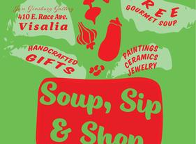 Soup, Sip & Shop 2019