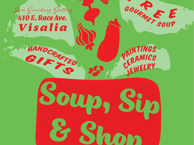 Soup, Sip & Shop 2019