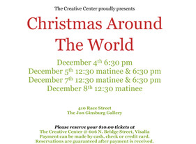 Join The Creative Center in Celebrating Christmas Around the World!