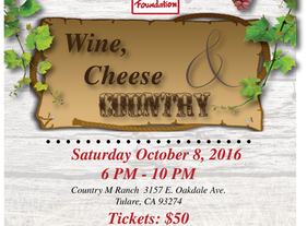 Wine, Cheese & Country Fundraising Gala