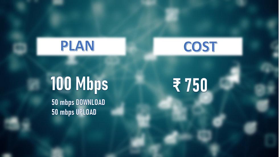 Fastnet 100mbps unlimited Data