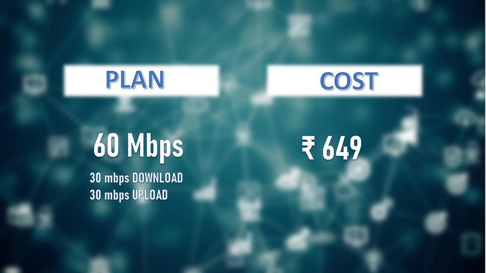Fastnet 60mbps unlimited Data