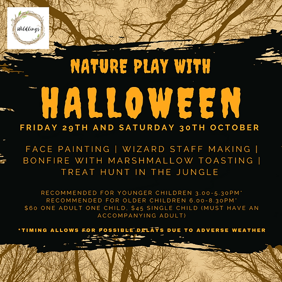 Nature Playtime with Halloween (29 & 30 OCT, 3.00pm & 6.00pm)