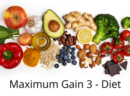 Maximum vs marginal gains - Diet