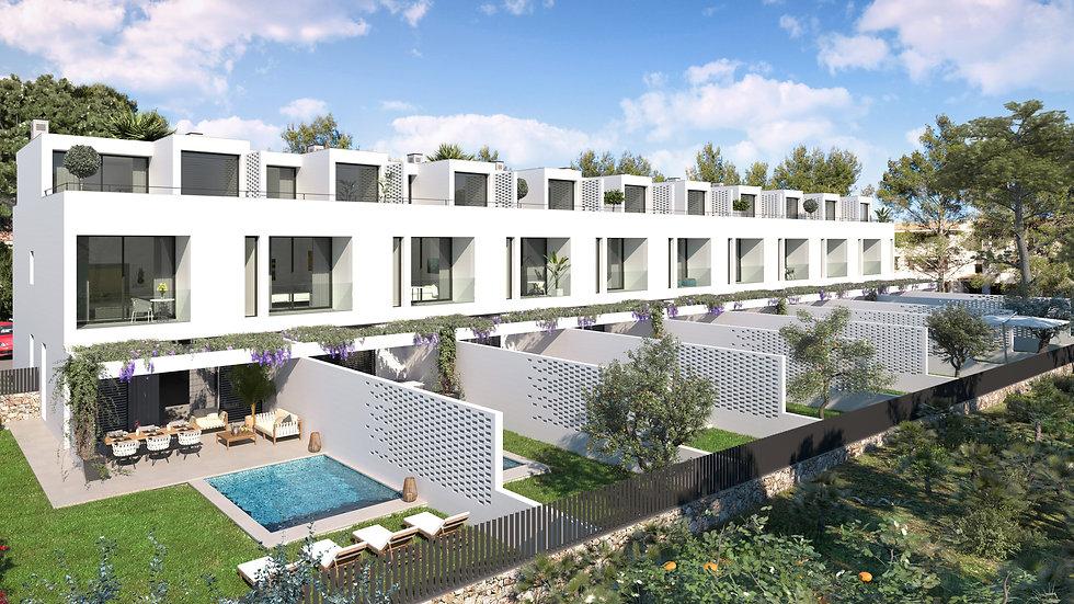 Majorque - maisons