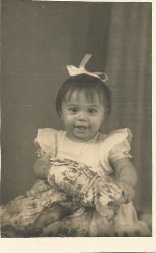 Nairzinha com 1 ano