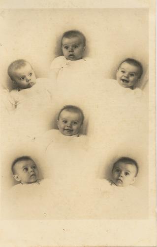 Nairzinha aos 5 meses