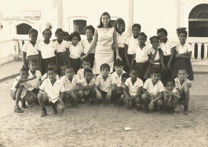 Nairzinha em 1966 no seu estagio de prof