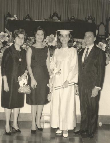 Fornatura de Professora em 1966 Avó Nair
