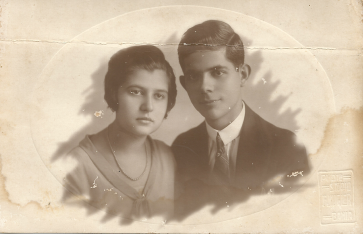Avós Maternos Nair e Salomão