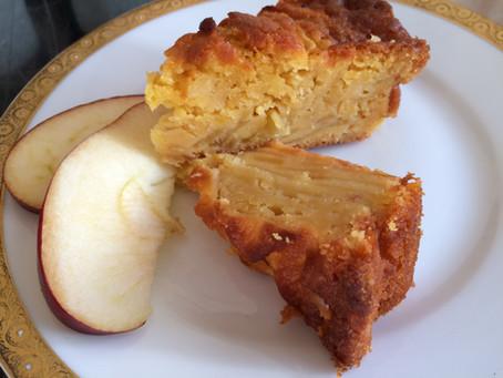 Torta di mele rustica all'olio