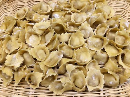 Cappelletti all'emiliana ricetta della tradizione