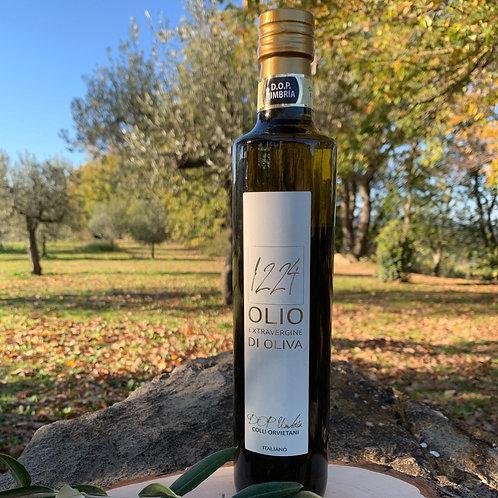 Scatola 6 bottiglie x 500ml Olio Extravergine di Oliva DOP Umbria