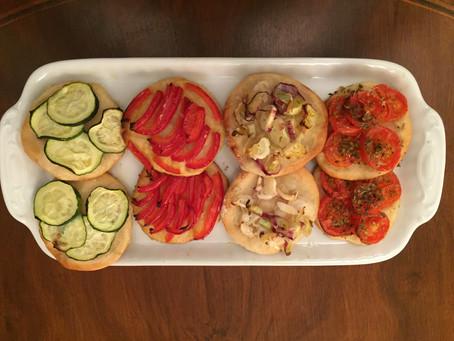 Pizzette alle verdure