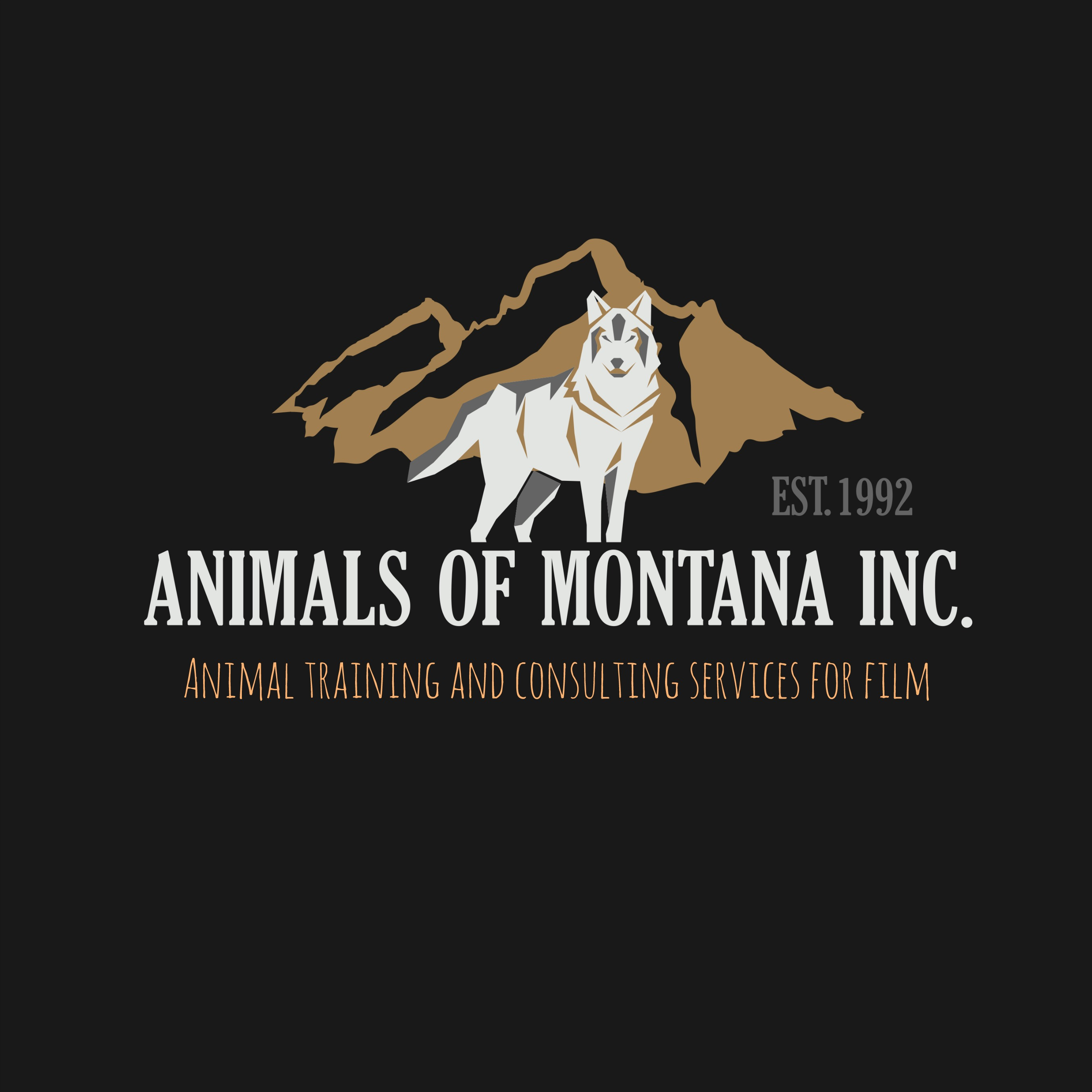Animals of Montana Inc. Logo