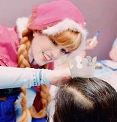 Once Upon a Crown princess performer at princess party