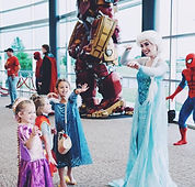 Once Upon a Crown princess performers at corporate event