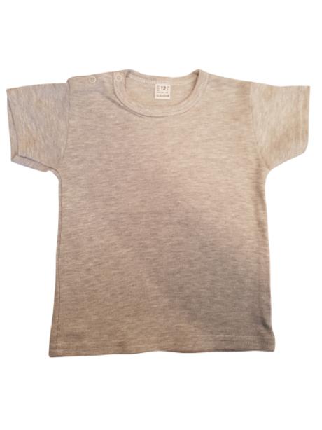 T-shirt korte mouw - grijs