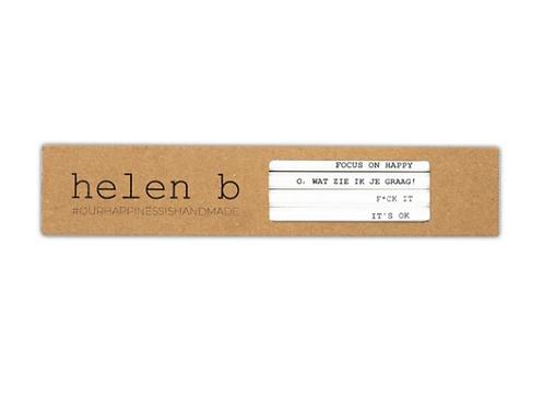 Potloden met quote - Helen B