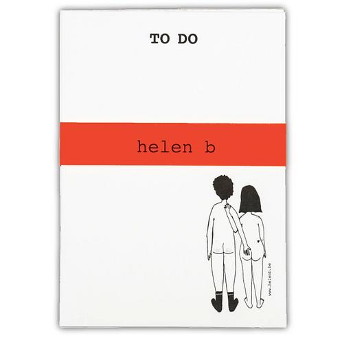 Blocnote couple back - Helen B